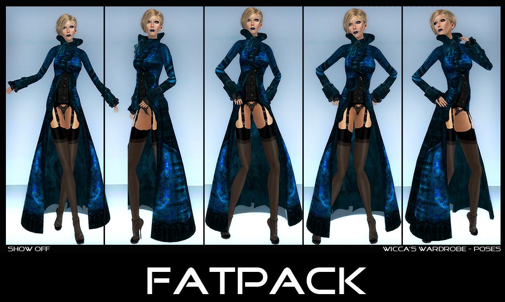 WM - Poses Show Off Set - Fatpack