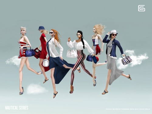 Gizza - Nautical Series Advertise 01