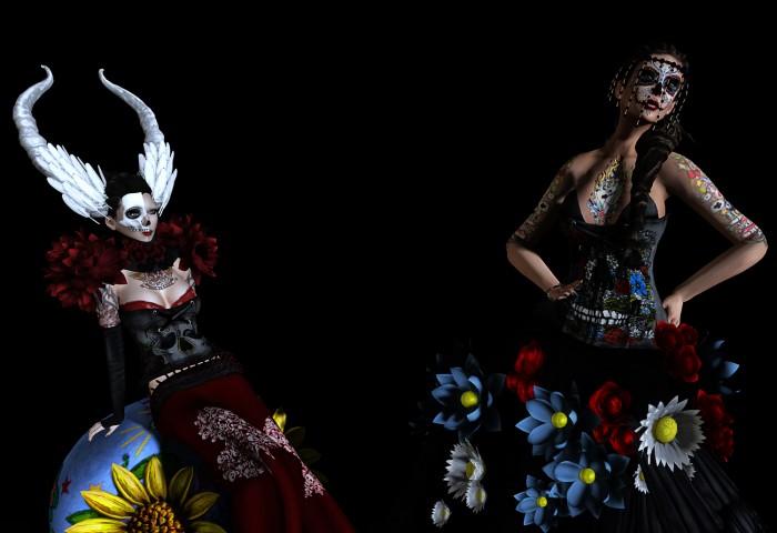 Sazzy & Wicca Sugarskull 003