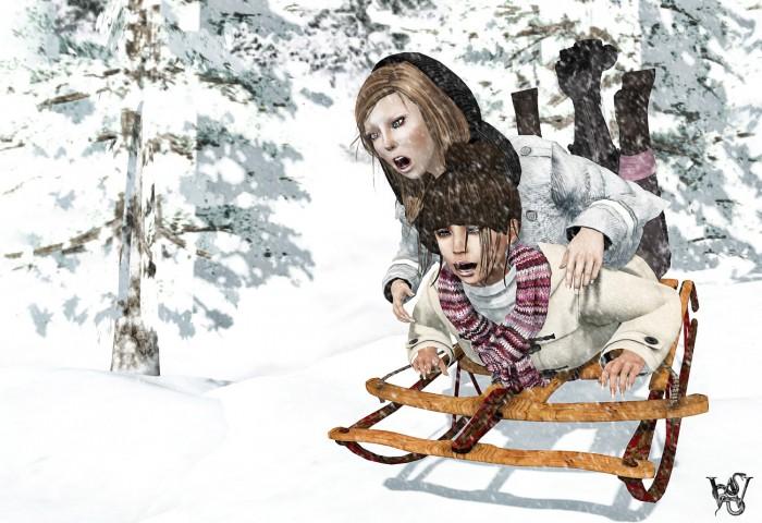 Sazzy&Wicca Snowy 2