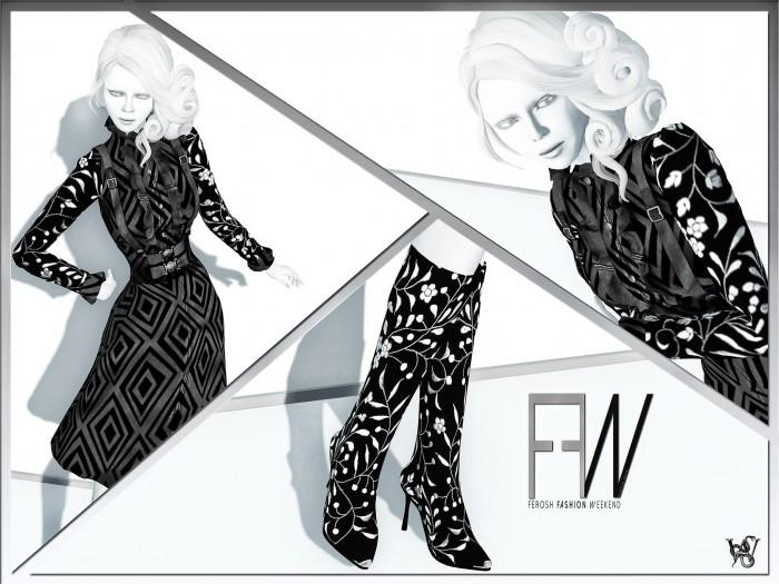 FEROSH FW 2016 - Byrne - Floral Leder