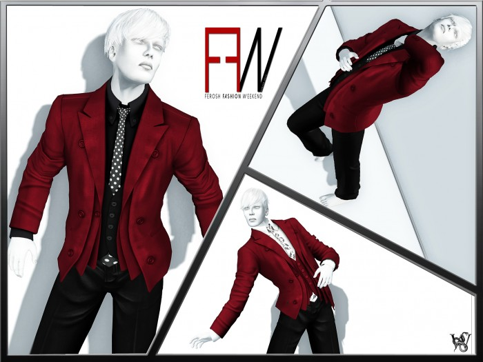 FEROSH FW 2016 - Prism - Miles Suit Red