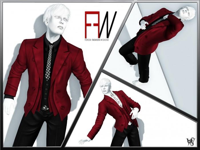 FEROSH FW 2016 - Prism - Miles Suit Red